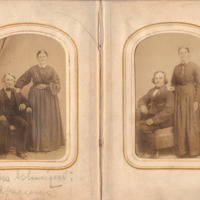 Pages 2 - 3 of Schweigert Family Photo Album&lt;br /&gt;<br />