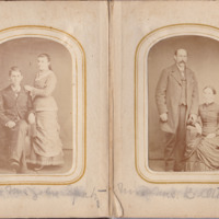 Pages 14 - 15 of Schweigert Family Photo Album&lt;br /&gt;<br />