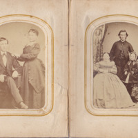 Pages 8 - 9 of Schweigert Family Photo Album