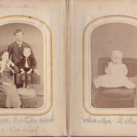 Pages 12 - 13 of Schweigert Family Photo Album&lt;br /&gt;<br />