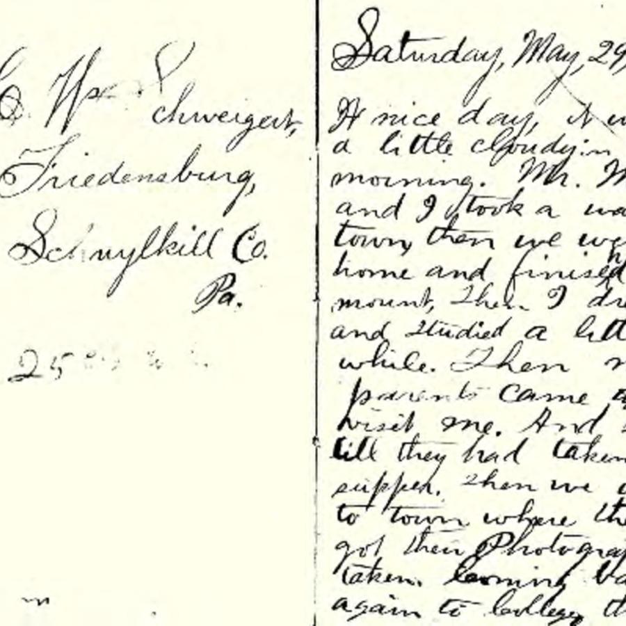 1869 Diary