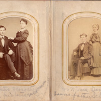 Pages 10 - 11 of Schweigert Family Photo Album&lt;br /&gt;<br />