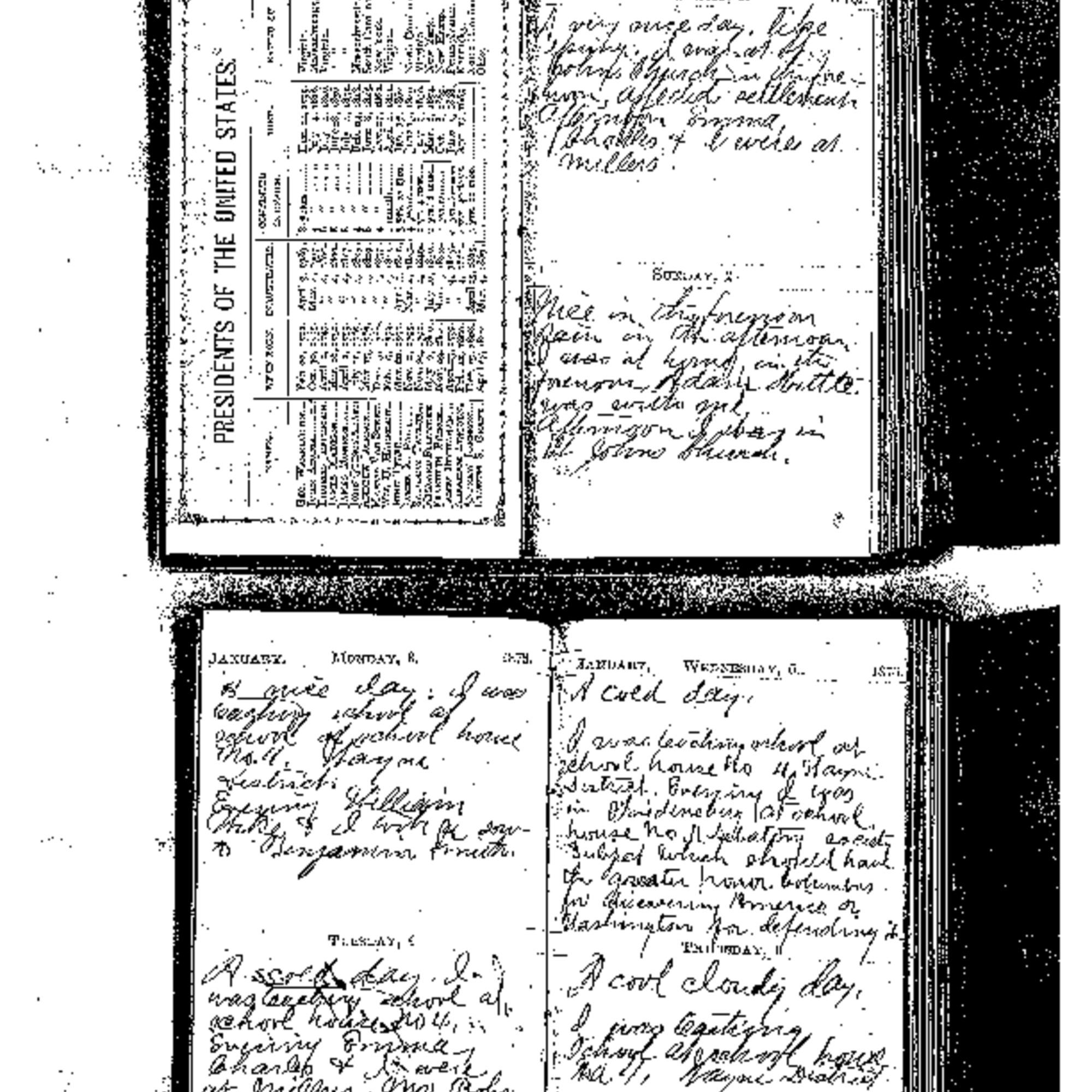 1876 Diary