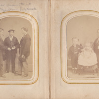 Pages 16 - 17 of Schweigert Family Photo Album