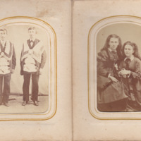 Pages 22 - 23 of Schweigert Family Photo Album&lt;br /&gt;<br />