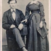 Wedding Portrait of Henry and Emma (Miller) Schweigert&lt;br /&gt;<br />