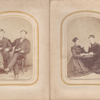 Pages 20 - 21 of Schweigert Family Photo Album&lt;br /&gt;<br />