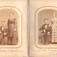 Pages 4 - 5 of Schweigert Family Photo Album&lt;br /&gt;<br />